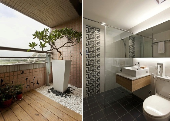 White-and-wood-bathroom