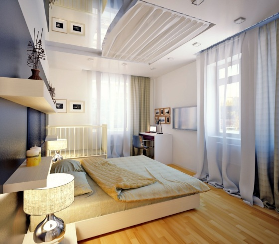 Gray-white-bedroom