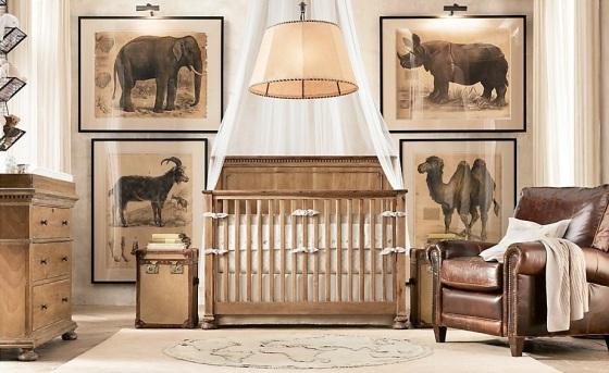 Traditional-safari-themed-baby-room