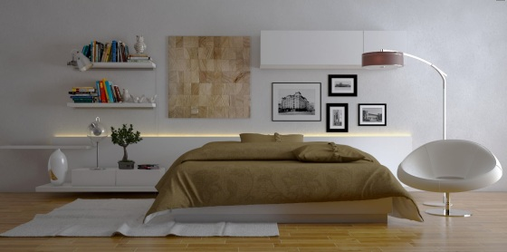White-bedroom-decor